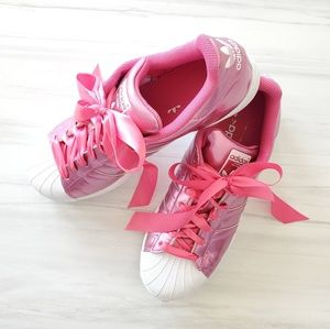 Adidas Originals women's Superstar sn Metalic Pink